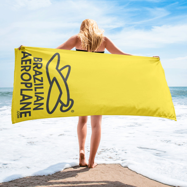 BA Yellow Towel