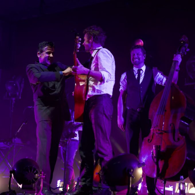 Eduardo as a guest for BKO at Finlandia House 2010