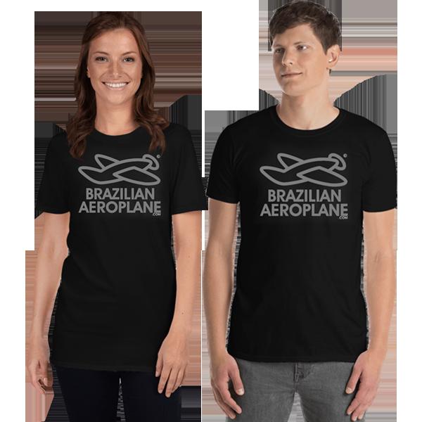 Unisex T-Shirt Brazilian Aeroplane